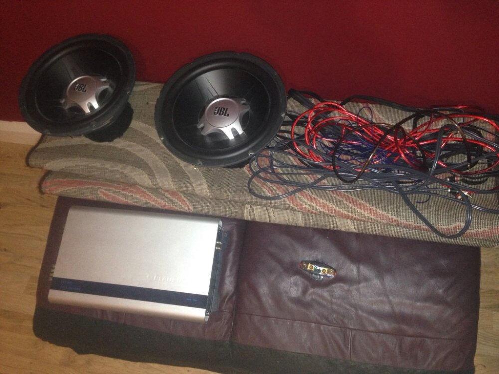 Strange 2 X 12 Inch Jbl Subs Blaupunkt 1200W 4 Channel Amp And Vibe Wiring 101 Ferenstreekradiomeanderfmnl