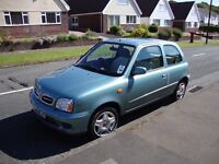 Loved and reluctant sale of my Nissan Micra Activ 2001 very low mileage