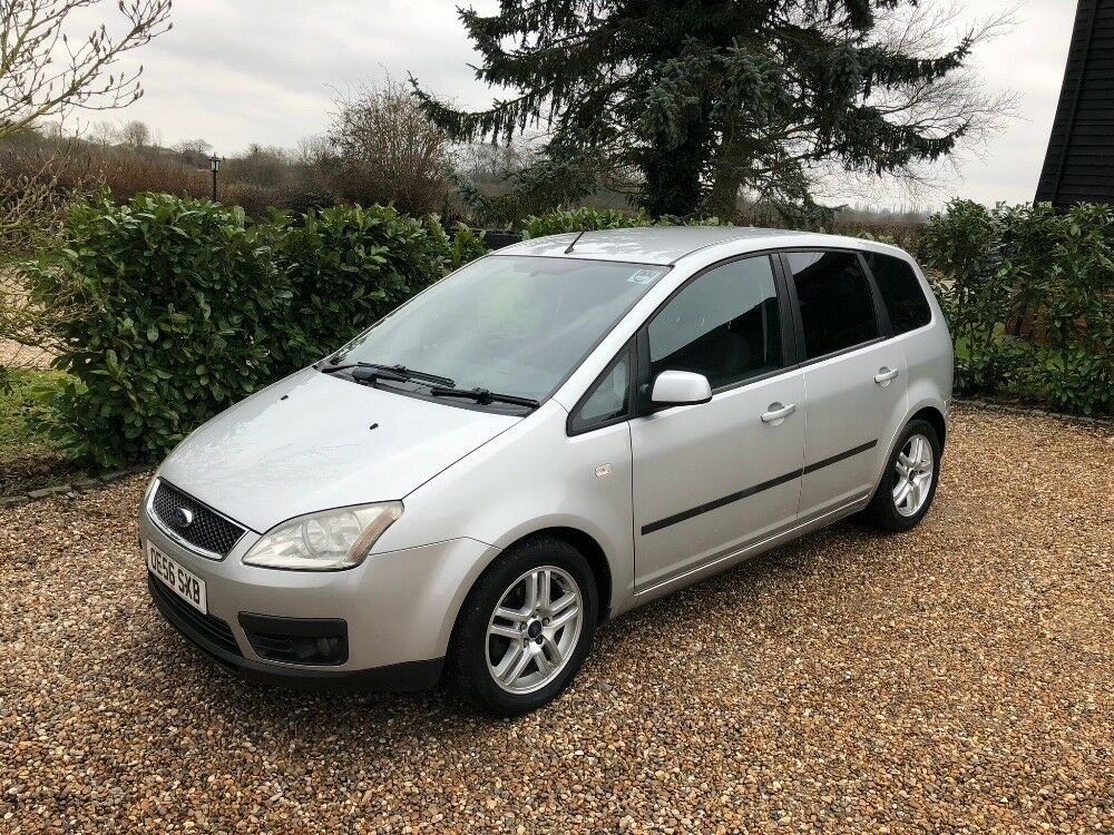 ford focus c max zetec tdci auto fsh silver 2006 in ongar essex gumtree. Black Bedroom Furniture Sets. Home Design Ideas