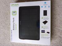 Brand new Oyama Hybrid Solar Cell Battery Pack