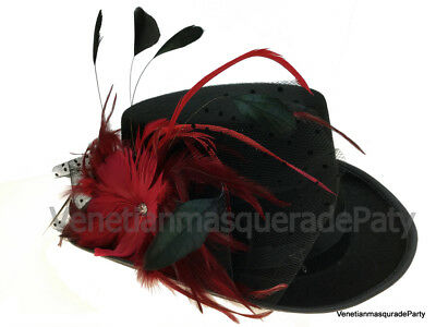 Renaissance feather top hat costume dress up Kentucky Derby dance event party (Renaissance Parties)