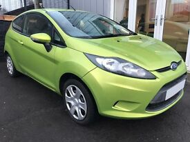 2009 (58) FORD FIESTA STYLE - 1.2 - 3dr - GREEN - JANUARY 2018 MOT