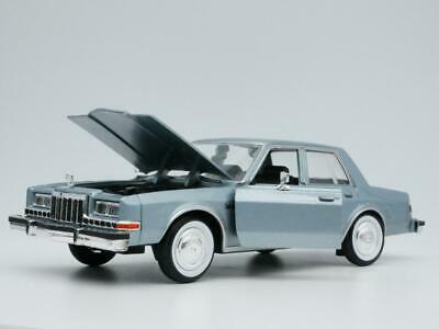 1986 DODGE DIPLOMAT RARE 1:24 SCALE DIORAMA DIECAST MODEL CAR