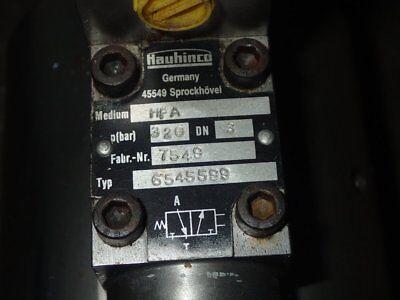 Hauhinco 6545599 Hydraulic Control Valve 75495506 Hfa Used Excellent Condition