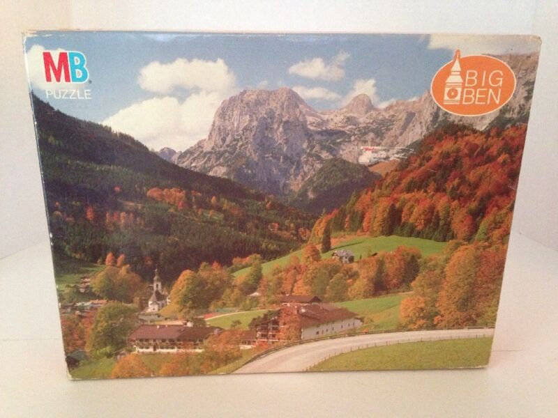 BIG BEN SERIES 4962-19 RAMSAU W GERMANY PUZZLE NEW OLD STOCK SEALED 1000PC @1990