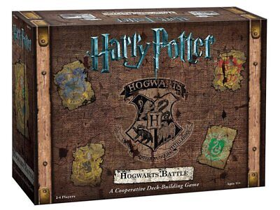 Harry Potter Hogwarts Battle A Cooperative Deck Building Board Game