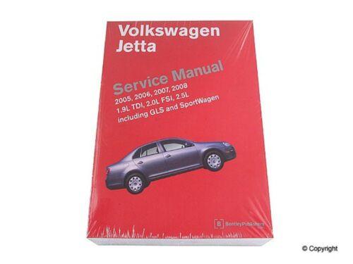 Repair Manual-Bentley Repair Manual WD EXPRESS 989 54020 243 fits 05-10 VW Jetta