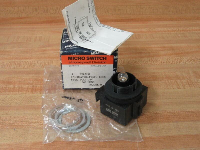 Honeywell PTL2151 Micro Switch  Indicator Light (Pack of 3)
