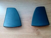 Saab 9000 Wing Mirror Door Panel Cover Set RH and LH 1992-98 PART 9694696 AND 9694704, used for sale  Enfield, London