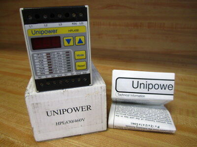 Unipower Hpl430 Signal Conditioner Hpl430 460v