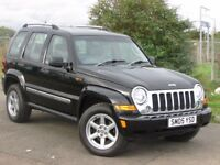 JEEP CHEROKEE LIMITED 2.8 CRD 5DR AUTO (black) 2005