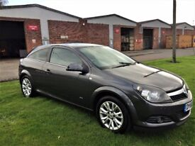 VAUXHALL ASTRA 1.6 SRi Sports Coupe (grey) 2010