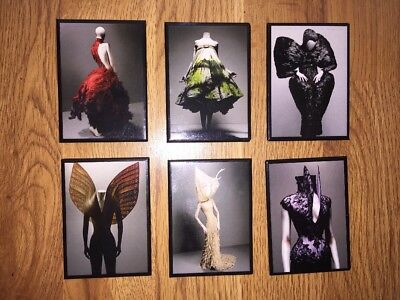 Alexander McQueen Fashion History Magnet Collection - Met Museum Solve Sundsbo