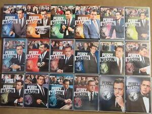 PERRY MASON COMPLETE SERIES 71 DISCS, MINT Kitchener / Waterloo Kitchener Area image 1