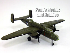 North American B-25 Mitchell Doolittle Raid 40-2344 1/200 Scale Diecast Metal