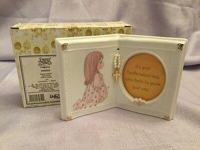 Precious Moments Confirmation Girl Book Photo Frame Enesco 646253