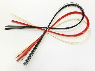 Geisha Maiko Nihongami Mottoi Motoyui Hair Styling Ties Pack of 60 pcs 3 Colors