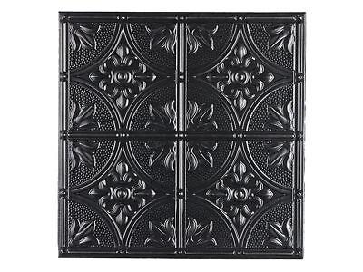 Genesis - Antique Black Ceiling Tiles 2x2 - Box Of 12