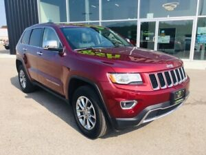 2016 Jeep Grand Cherokee Limited, Pano Roof, Navigation