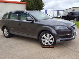 AUDI Q7 4.2 V8 AUTO IN GREY WITH DOLPHIN LEATHER FSH (grey) 2006