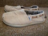 Toms Canvas Shoes Boys Size 2