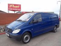 Mercedes vito 2.2 with twin side doors