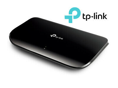 TP-LINK 8 Port Gigabit Network Desktop Ethernet Switch 1000M