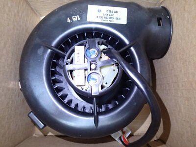 Heizungsgebläse  Gebläse Heizungslüfter Bosch BPA 24V 0130007803 Mercedes NOS