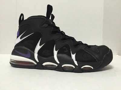 best service 4b3a6 dacfb Nike Air Max CB34 Charles Barkley Basketball Shoes Black 414243 002 Mens  Size 11