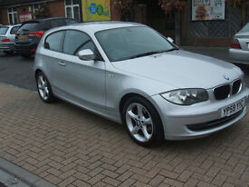 BMW 1 SERIES 116I SPORT (silver) 2010