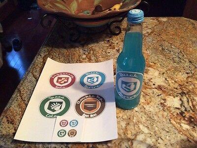 Perk A Cola Labels/Stickers Original 4! Replicas Call Of Duty Zombies