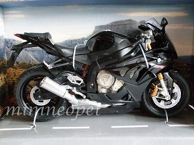 AUTOMAXX 606201 2014 BMW S1000 RR BIKE MOTORCYCLE 1/12 BLACK