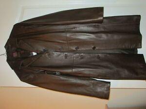 Danier Leather Coat-Brown