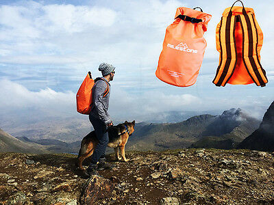 30 Litres Milestone Camping Dry Back Pack Ruck Sack Bag Durable Backpack Carry