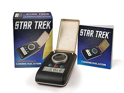 Star Trek Communicator Light Sound Book Electronic Toy Prop Voice Communicaton
