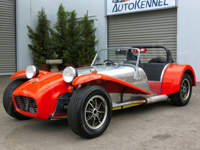 Lotus : Super Seven Caterham S3 1973  Super 7 2-Owners 13k Orig Mi Surviovr #'s Match Twin Cam Big Valve