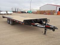 2015 Diamond C 13DEC-L20 Flatdeck Car Hauler Trailer