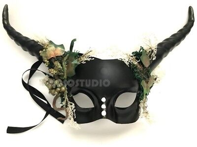 Woodland Forest Fairy Antler Masquerade Horns Mask Halloween Costume Party - Woodland Fairy Party