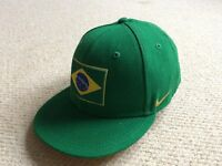 Genuine Nike Brazil Cap (Worn Once)