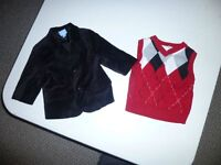 Children's Place Velvet Jacket/Vest 6-9mths