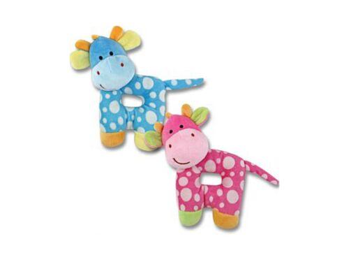 """Baby Plush Giraffe Rattle, 7"""" Tall ~ Baby Shower Gift!"""