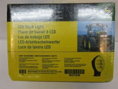 John Deere Re575338 Led Work Light -made In Usa