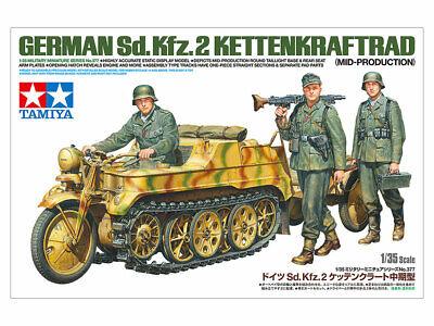 Tamiya 35377 - 1:35 Dt. Sd.Kfz.2 Kettenkrad (Mit.Prod.) - Neu