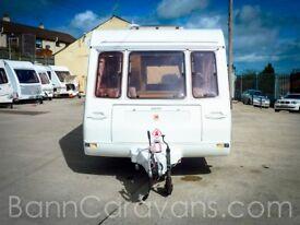 (Ref: 881) Compass Kensington 4 Berth Touring Caravan Perfect Starter Caravan