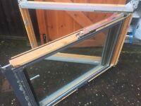 USED VELUX GPL M06 Roof Window c/w blind and locking handle