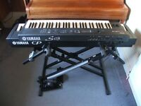 Yamaha CP33 Stage Piano+S03 Synth+Stand, Pedal, Cases