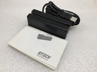 Id Tech Idre-334133be-a1 Securemag Encrypted Magstripe Reader Credit Card Reader