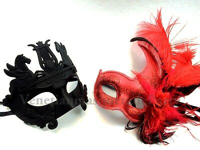 Couple Masquerade mask Halloween Costume Dress up Party Top quality Roman Man](Top Quality Halloween Costumes)