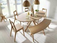 John Lewis Dining Table + Chairs