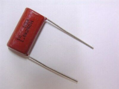 10 Illinois Capacitor Msr Series 1uf 250v Polyester Capacitors